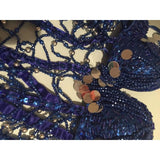 Mari Samba Beads, Sequined, Fringes Dress