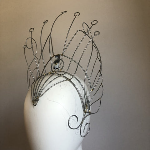 Headdress Wire Frame - Lines & Wings - BrazilCarnivalShop