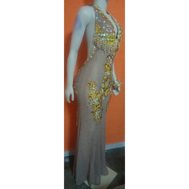 Pageant Queen Luxury Dress Samba Wear