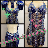 Sparkle Samba Chic Vintage Look Dress - BrazilCarnivalShop