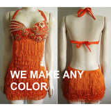 All Fringes Samba Basic Dress