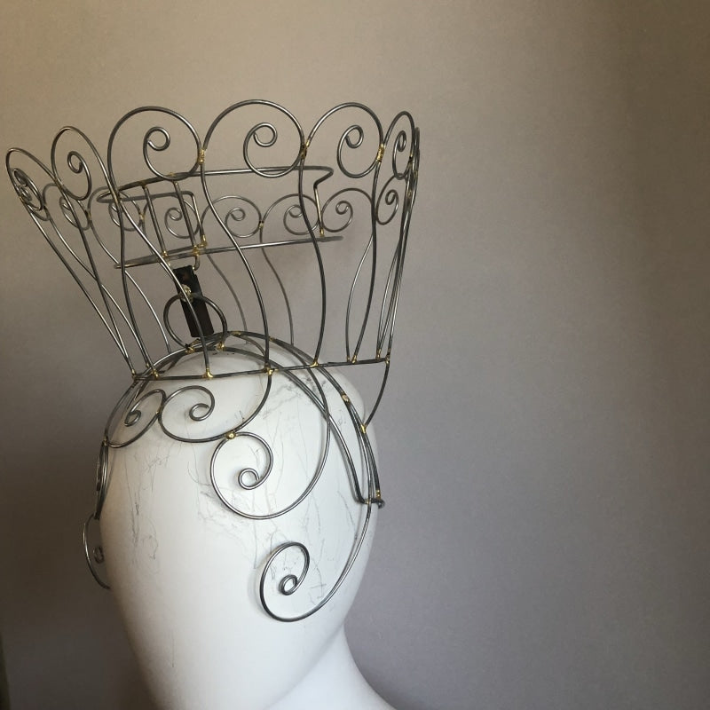 Headdress Wire Frame - Cory Swirls