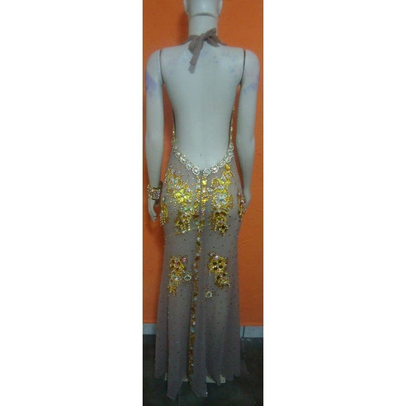 Pageant Queen Luxury Dress Samba Wear - BrazilCarnivalShop