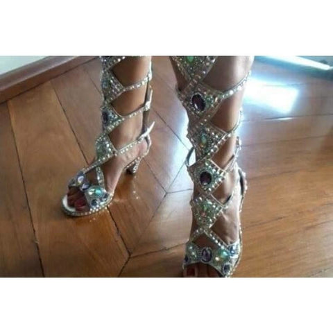 Brilliance Crystal Samba Shoes - Special Request Only