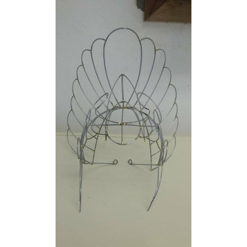 Headdress Wire Frame - Oval Shapes
