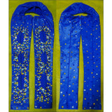 Azul Royal Samba Bolero Arm Sleeves - BrazilCarnivalShop