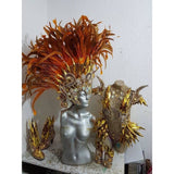 Gold Imperatriz Luxury One Piece Samba Costume