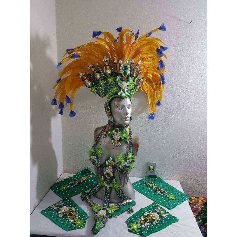 Tropical Supreme Luxury Bikini Samba Costume - BrazilCarnivalShop