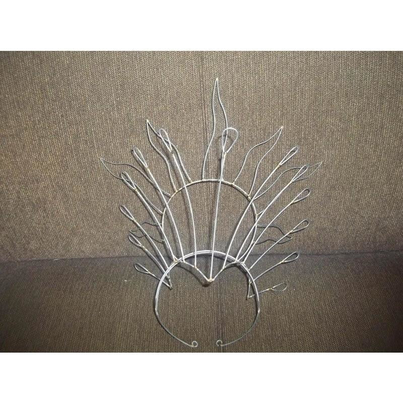Headdress Wire Frame - Open Flames