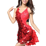 Melissa Gafieira Sequin & Ruffled Dance Dress - BrazilCarnivalShop