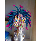 Blue and Pink Luxury Bikini Samba Costume