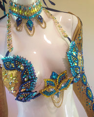 Regal Blue Samba Costume