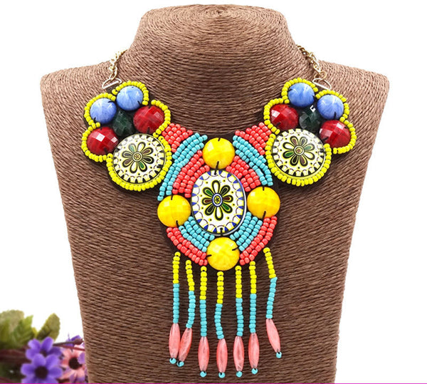 Cabo Frio Beaded Necklace