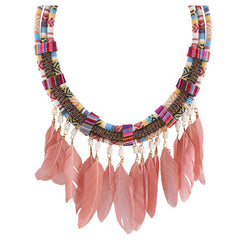 Feathers Tribo Necklace