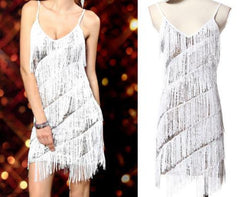 Great Fringes With Sequins Dress