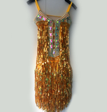 Super Star Sequins Samba Dress - BrazilCarnivalShop