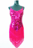 Extreme Sequines Bateria Fringes Dress