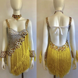 Ouro Brasil Fringes Ready to Ship - BrazilCarnivalShop