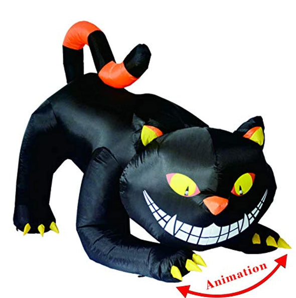 6 Foot Halloween Inflatable Cat