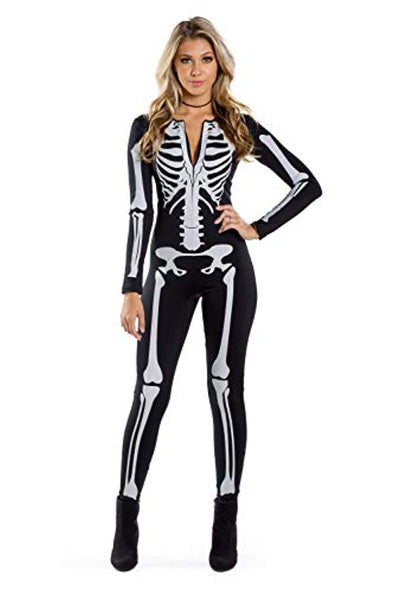 Women's Skeleton Halloween Costume