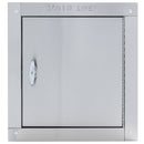 Universal Stainless Steel Linen Chute Door - Side Hinged, HRX09XH
