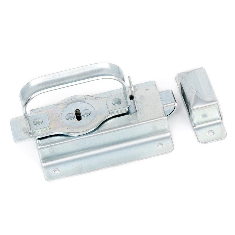 Discharge Door Latch
