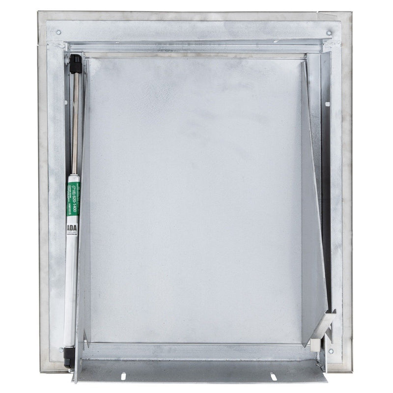 "Midland ""Style"" Stainless Steel Trash Chute Door - ADA Compliant, Bottom Hinged, HMX09ADA"
