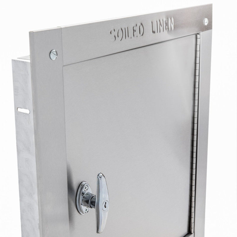 Universal Stainless Steel Linen Chute - Fire Rated - UL Certified