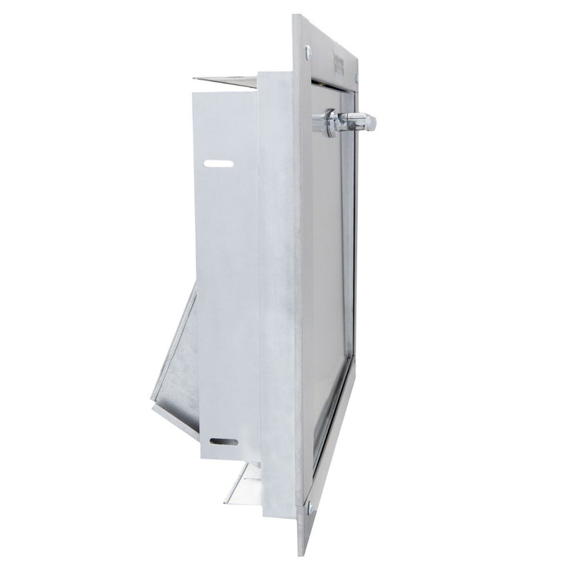 Universal Stainless Steel Trash Chute Door - ADA Compliant, HRX09ADA