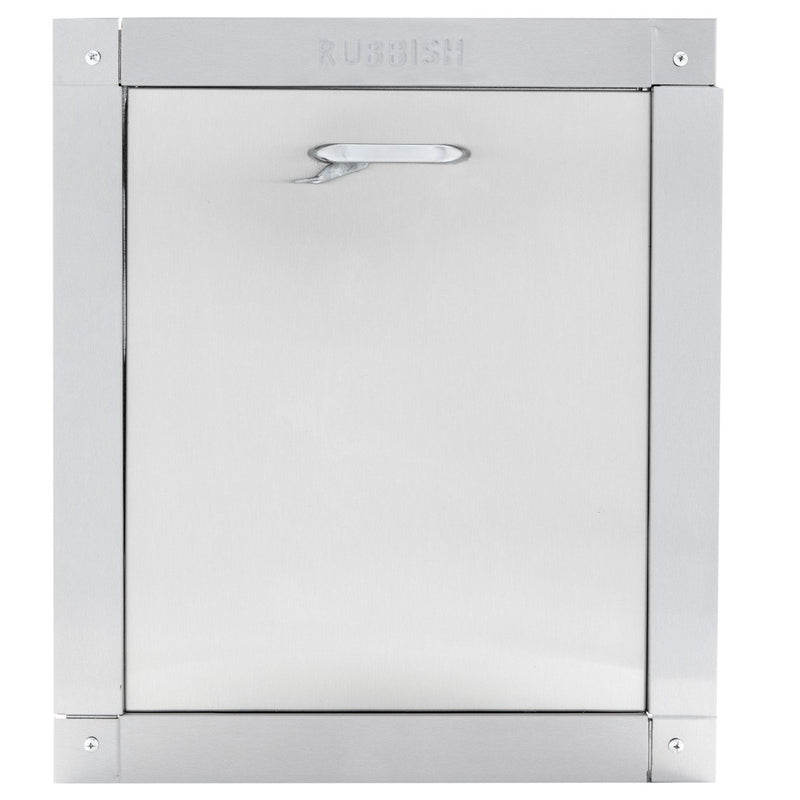 "Wilkinson Style ""Signature Series"" Stainless Steel Trash Chute Door Replacement, 15"" X 18"""