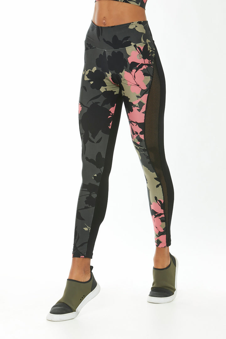 Tights Camo Flower
