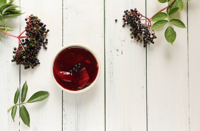 Yummy & fun elderberry recipe ideas
