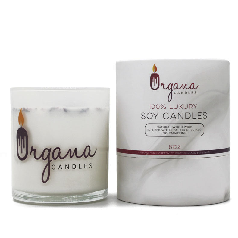 Scented Candle - English Pear and Freesia | Organa Candles