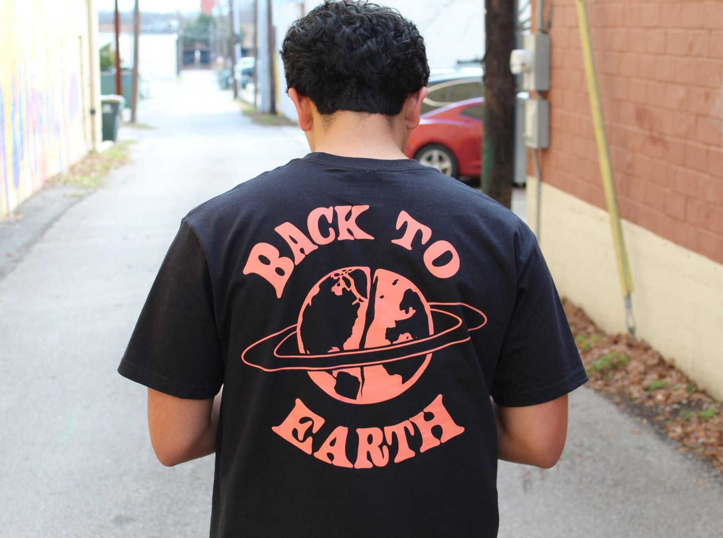 BACK TO EARTH T-SHIRT