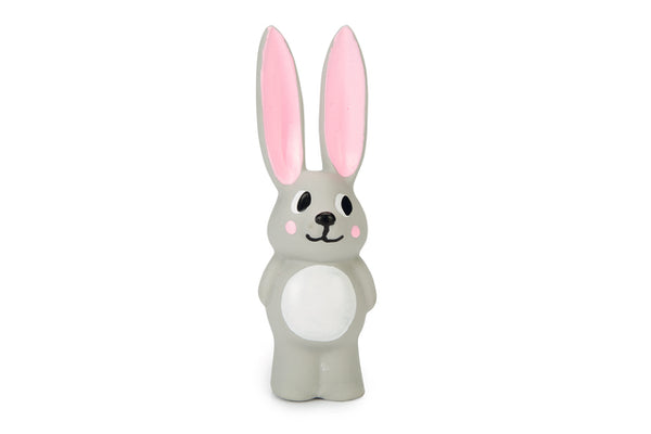 BEEZTEES KUTSIKA MÄNGUASI PUPPY LATEX RABBIT BULA 14CM HALL