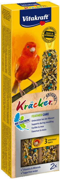 VITAKRAFT KANAARILINDUDE MAIUS KRÄCKER FEATHER CARE N2