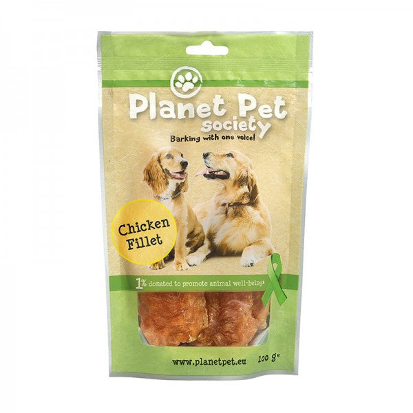 Planet Pet Society maius koerale kanafilee 100g