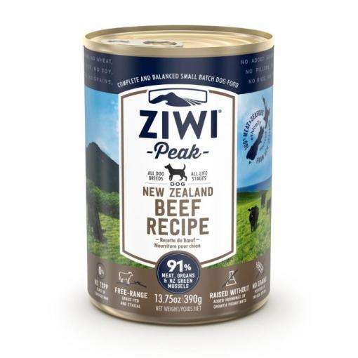 Ziwi Peak Wet Beef Recipe for Dogs 390g