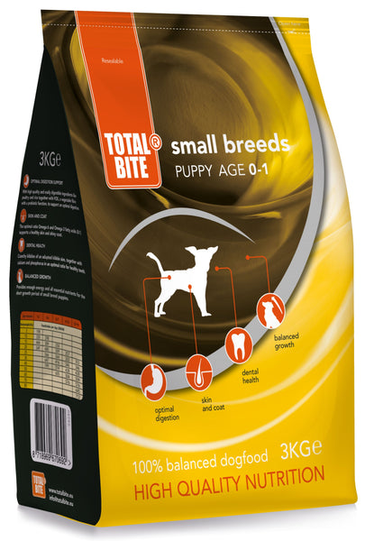 Total Bite Puppy small 3kg