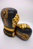 Combat Night Gold Standard Boxing Gloves 6oz Youth