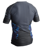 Wrapped Up Jiu Jitsu Rash Guard