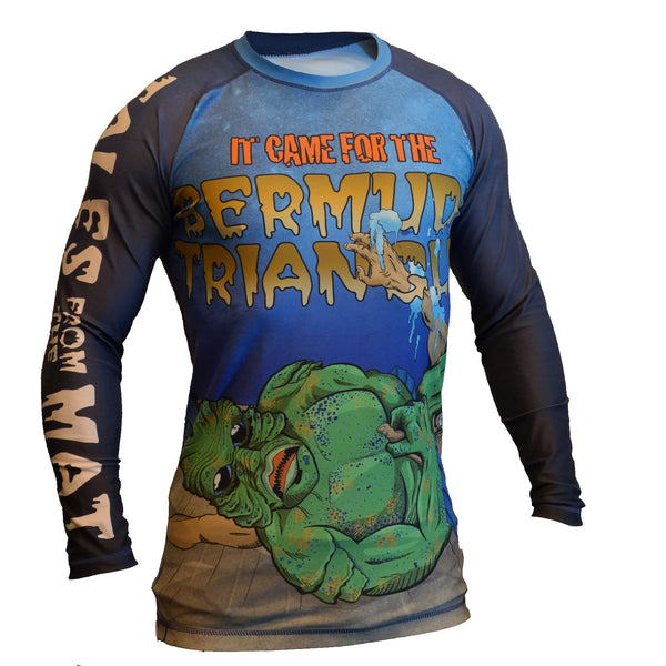 Bermuda Triangle Rash Guard