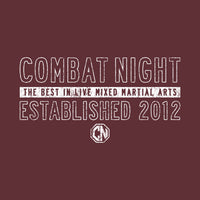 Combat Night Est. Tee