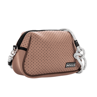 Eazy Sling Bag Cocoa Brown Side - Nuprene.co