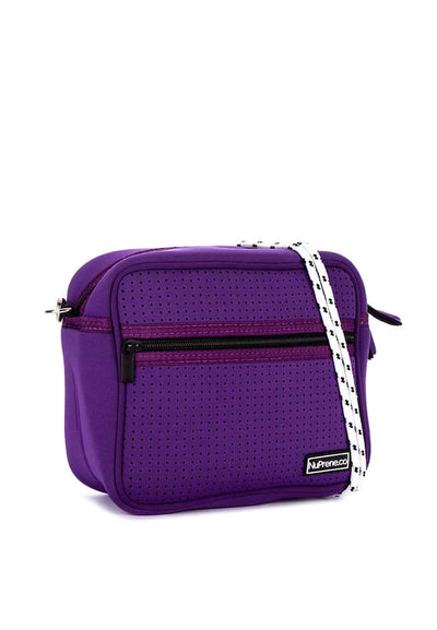 Box Sling Lavender Bag Side Angle - Nuprene.co
