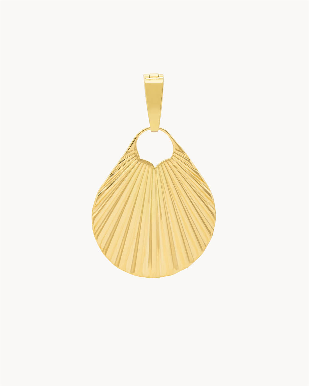 Pendentif Coquillage Lucky Vibes, Or