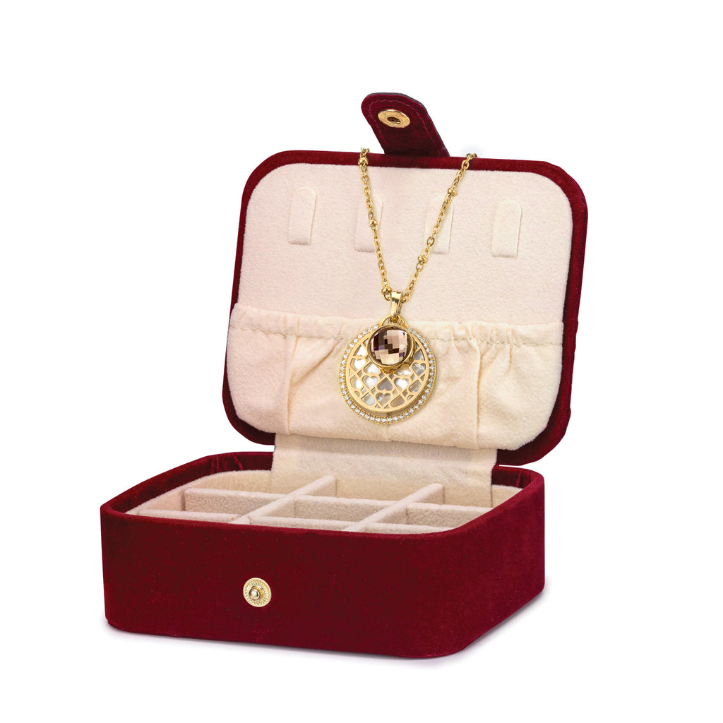 Ultimate Love Gift Set, Gold (Includes FREE Exclusive Red Jewellery Box)
