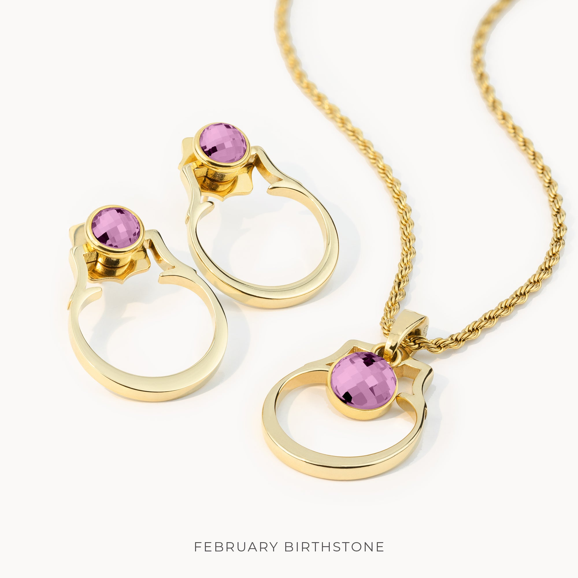 Birthstone Classic Habbata Full Set, Gold