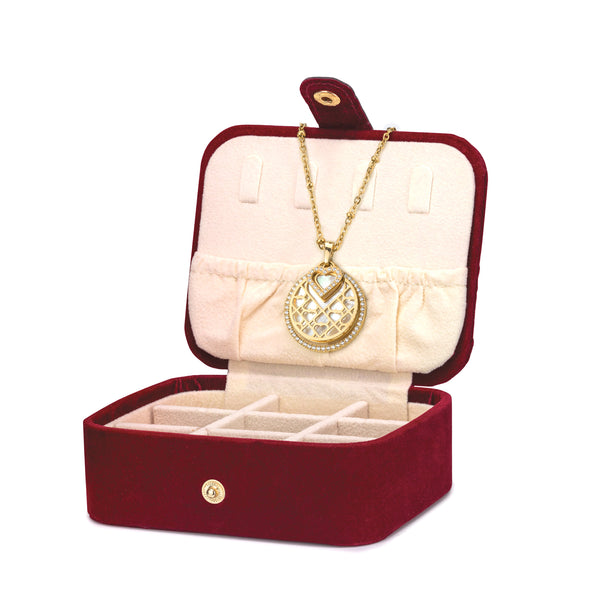Ultimate I Love Gift Set, Gold (Includes FREE Exclusive Red Jewellery Box)