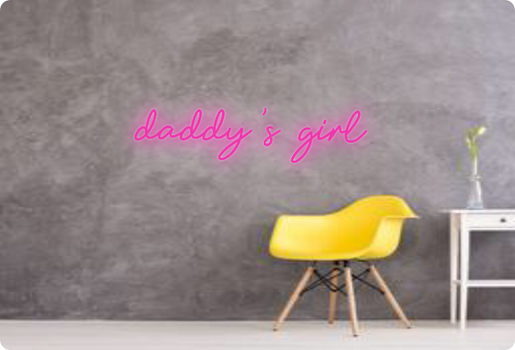 Custom order: daddy's girl